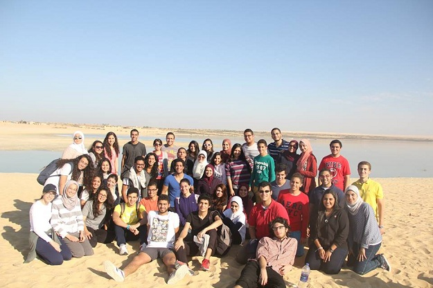 First EMP Outing – Wadi El Rayan National Park